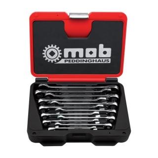 Set chei combinate cu clichet reversibil, cutie FUSION BOX